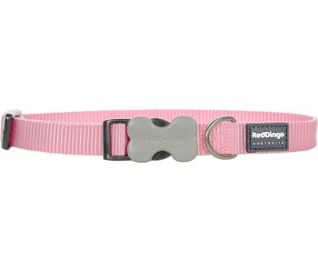 Red Dingo Dog Collar Classic - Pink - Available In S, M, ML & L