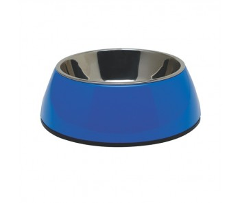 Dogit 2-in-1 Dog Dish Blue - Available in X-Small, Small, Medium & Large