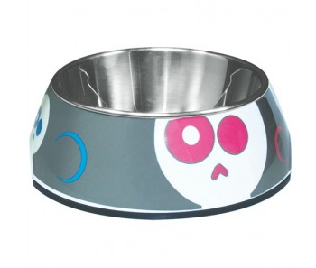 Dogit 2-in-1 Style Dog Dish - Electric Skulls - Available in XS & S