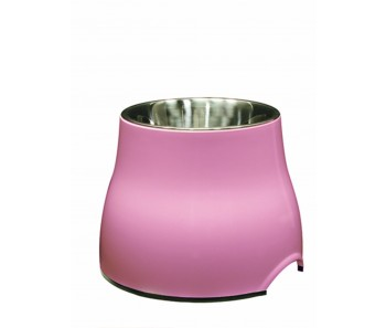 Dogit Elevated Dog Dish Pink - Available in S & L