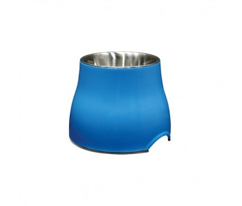 Dogit Elevated Dog Dish Blue - Available in S & L