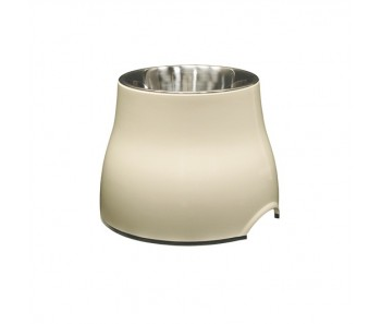 Dogit Elevated Dog Dish White - Available in S & L