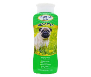 Cardinal Gold Medal Pets Medicated Shampoo  - 17 oz.
