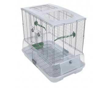 Vision Bird Cage for small birds (M01) - Single Height, Small Wire