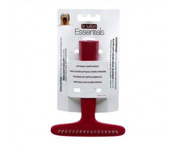 Le Salon Essentials Dog Undercoat Rake - Single Row
