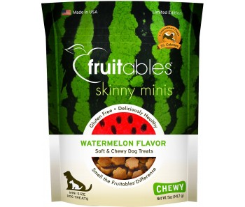 Fruitables Skinny Minis Watermelon Dog Treats 141g