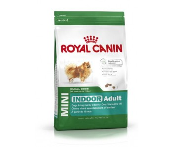 Royal Canin - Canine Mini Indoor Adult - Available in 1.5kg, 4kg & 8kg