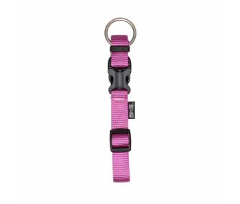 Zeus Adjustable Nylon Dog Collar - 99507 Fuchsia - Available in S, M & L