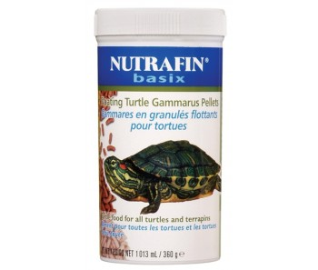 Nutrafin Basix Turtle Gammarus Pellet - 360 g (12.6 oz)