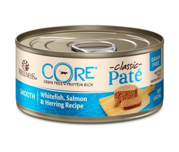 Wellness Cat Canned CORE® Pâté Whitefish, Salmon & Herring 5.5oz