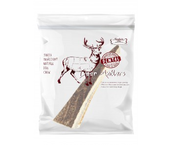 Absolute Bites Half Deer Antlers - Available in Mini, Medium & Maxi