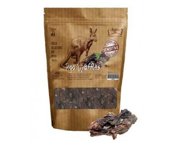 Absolute Bites Air Dried Roo Waffles Dog Treats (Lungs) - 220g