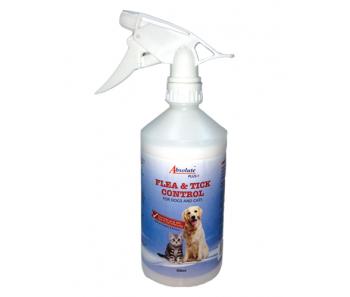 Absolute Plus Flea & Tick Control Spray 500ml