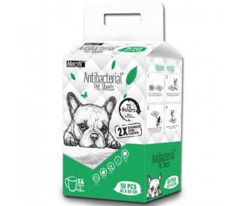 Absorb Plus Pet Sheets Antibacterial 45x60cm - 50pcs