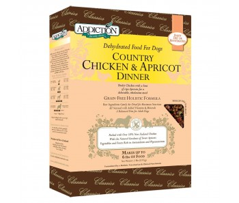 Addiction Dehydrated Classics Country Chicken & Apricot Dinner - 2lbs
