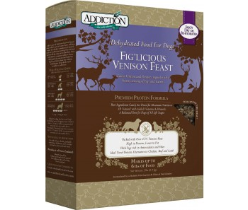 Addiction Dehydrated Fig'licious Venison Feast - 2lbs