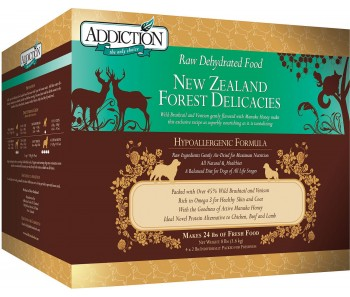 Addiction Dehydrated New Zealand Forest Delicacies - 8lbs