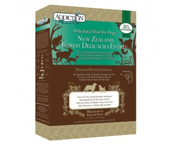 Addiction Dehydrated New Zealand Forest Delicacies - Available in 2lbs & 8lbs