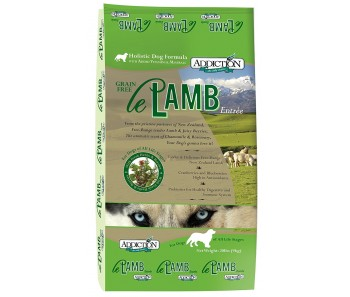 Addiction Le Lamb Dry Dog Food - Available in 4lbs, 20lbs & 33lbs