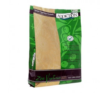 Addiction Zen Vegetarian Dry Dog Food - Available in 3lbs & 20lbs