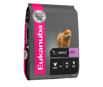 Eukanuba Chicken Adult Small Breed - Available in 1kg, 3kg, 9kg & 15kg
