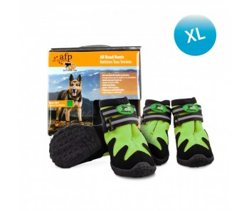 All For Paws - Outdoor Dog Shoes (#5) XL - Green