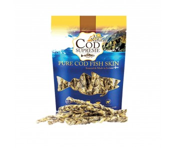 Alps Natural Cod Supreme Codfish Braids Dog Treat 125g