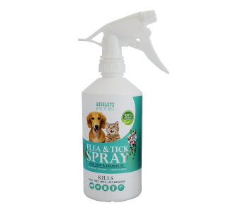 Absolute Plus Flea & Tick Control Spray With Organic Neem Oil 500ml (Buy 1 Free 1) GSS Promotion
