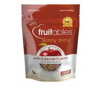 Fruitables Skinny Minis Apple Bacon Dog Treats 141g