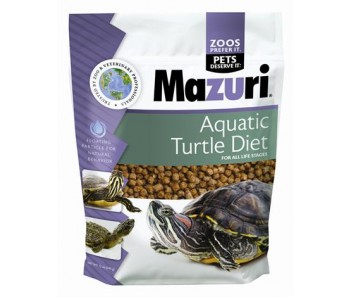 Mazuri Aquatic Turtle Diet 12oz
