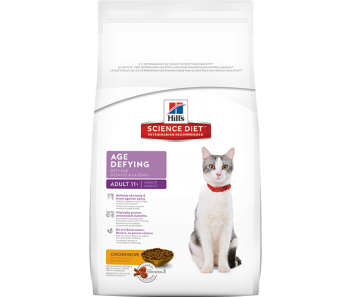 Science Diet Feline Adult 11+ Age Defying - Available in 3.5lbs