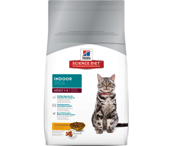 Science Diet Feline Adult Indoor - Available in 2kg & 4kg