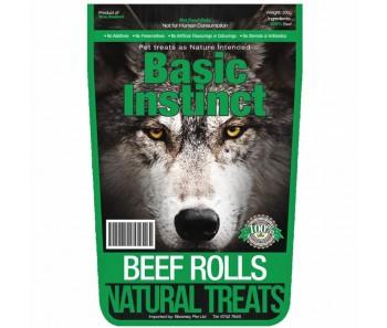 Basic Instinct Beef Rolls 200g