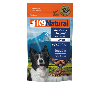 K9 Natural Freeze Dried Beef Topper 142g