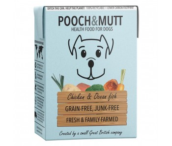 Pooch & Mutt Wet Food Chicken And Ocean Fish Grain-Free - 375g