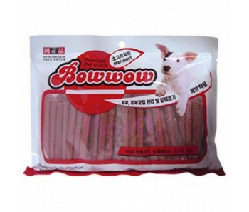 Bow Wow Dog Treats Beef Jerky 500g