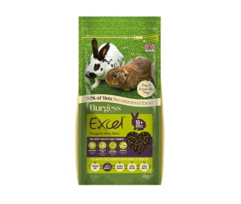 Burgess Rabbit Adult With Mint 2kg