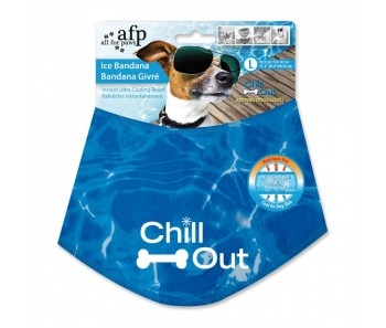 All For Paws - Chill Out Bandana - L