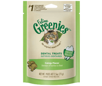 GREENIES™ Cat Dental Treats Catnip Flavor Flavor 2.5oz