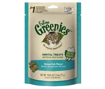 GREENIES™ Cat Dental Treats Ocean Fish Flavor 2.5oz