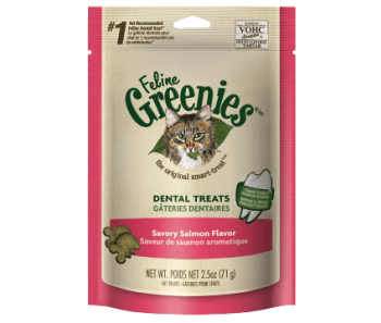 GREENIES™ Cat Dental Treats Salmon Flavor 2.5oz