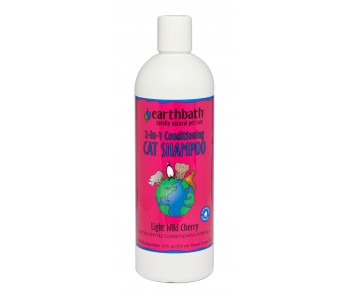 Earthbath 2 in 1 Conditioning Shampoo Cat - Available in 16oz & 1 Gallon
