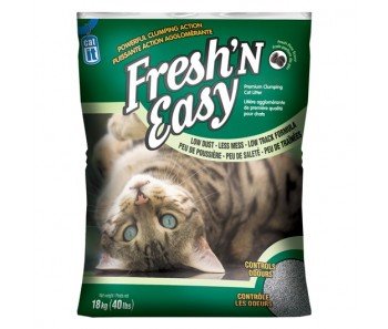 Catit Cat Clumping Litter Fresh 'N Easy - Pine Scent - 18 kg (40 lbs)