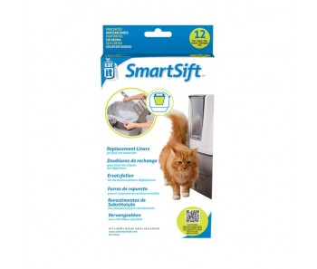 Catit SmartSift Replacement Liners - 12 pack For Cat Pan Base