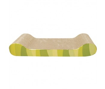 Catit Cat Scratcher with Catnip - Jungle Stripe - Lounge