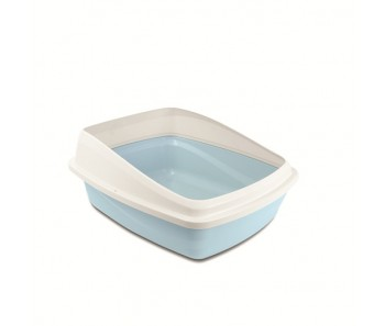 Cat Love Cat Pan With Rim Medium - Blue