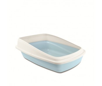 Cat Love Cat Pan With Rim Large - Blue