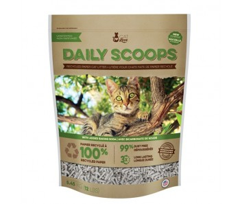 Cat Love Daily Scoops - Recycled Paper Litter - Available in 12 lbs & 25 lbs