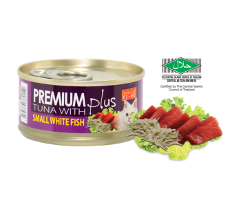 Aristo-Cat ® Premium + Cat Canned Food Tuna with Small White Fish 80g
