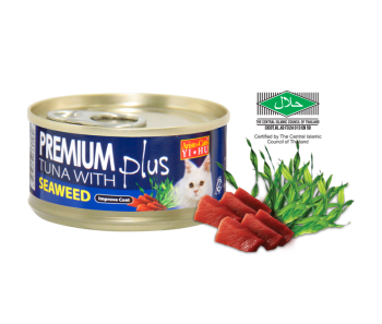 Aristo-Cat ® Premium + Cat Canned Food Tuna with Seaweed 80g